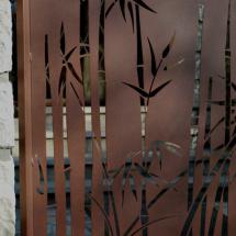 decoupe bambous